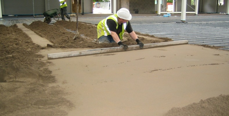 Fibre Reinforced Sand and Cement Screed