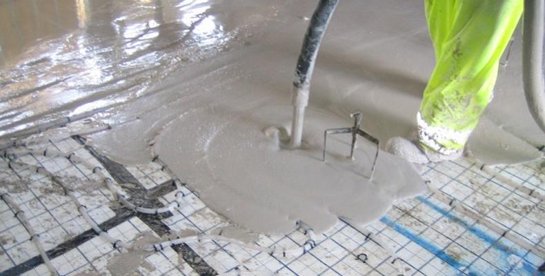 Liquid Floor Screed or Self Levelling Floor Screed