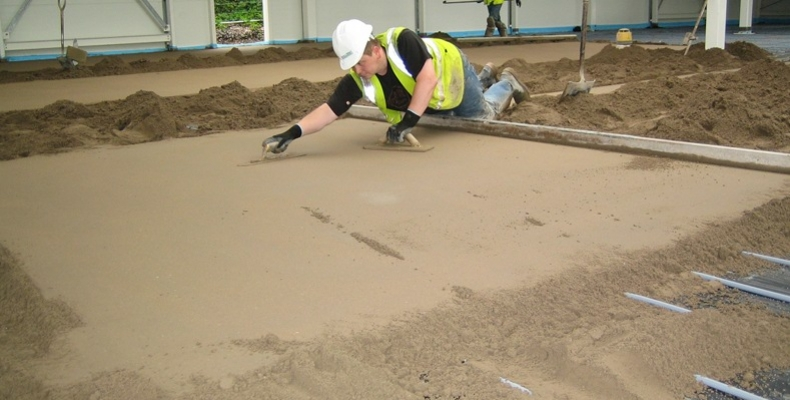 Fast Drying Sand and Cement Floor Screed