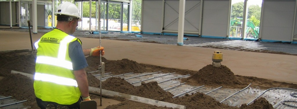 Fibre Reinforced Floor Screed Concrete Sand And Cement