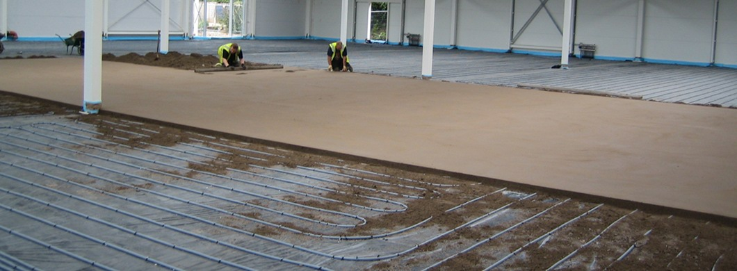 Commercial Floor Screeding